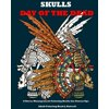 Skulls: Day of the Dead: A Stress Management Coloring Books for Grown-Ups: Awesome Animal Skulls Coloring Book, Anti-Stress Coloring Book (Tattoo Day of the Dead Skull Volume 3) (Paperback)