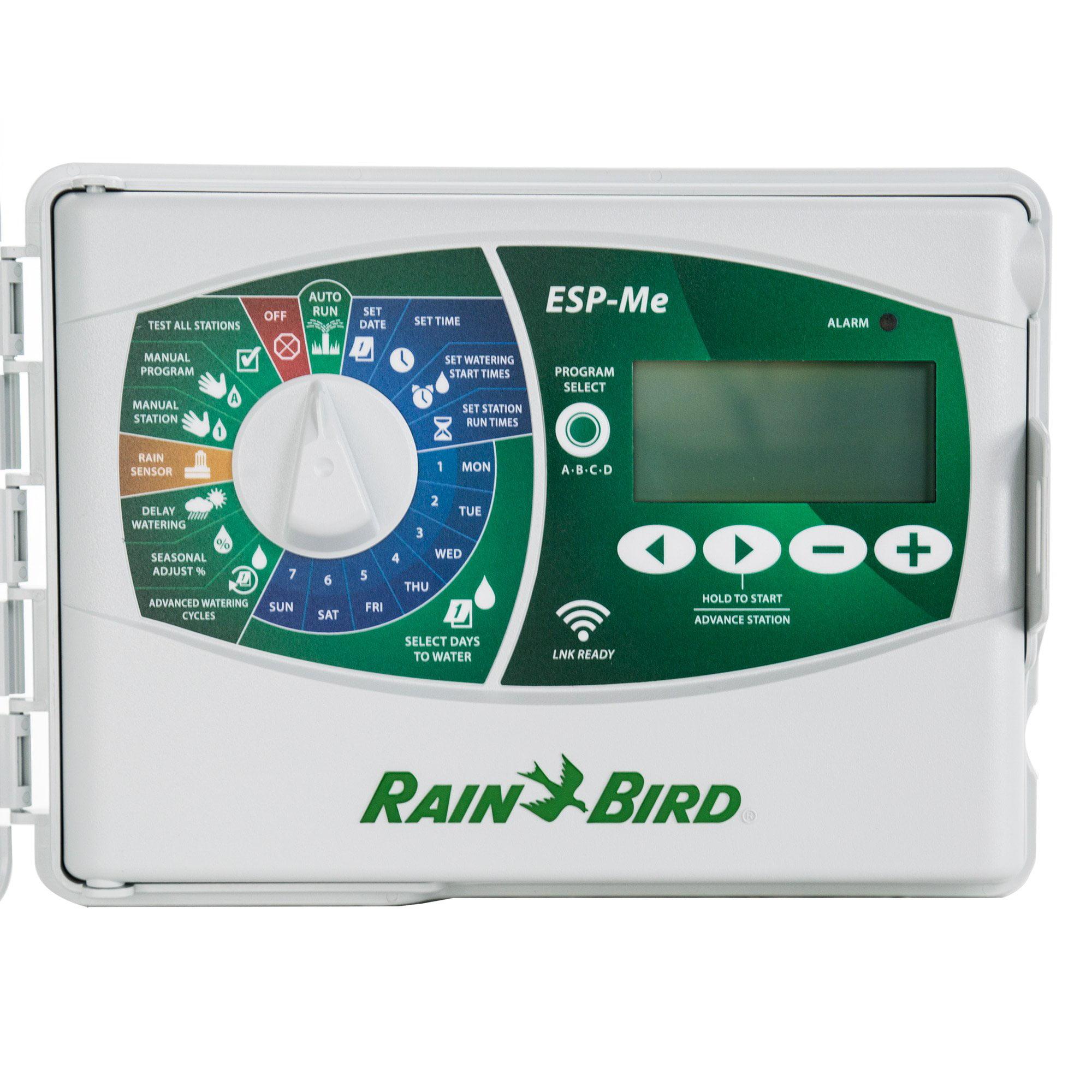 Rain Bird Smart LNK WiFi 10 Station Irrigation Sprinkler System Controller Timer