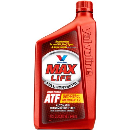 - Valvoline MaxLife Multi-Vehicle Automatic Transmission Fluid - 1 Quart