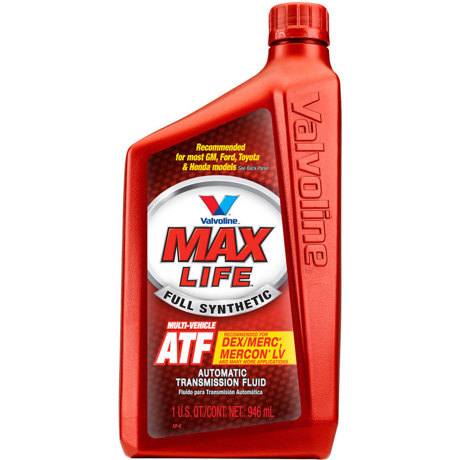 Valvoline MaxLife Multi-Vehicle Automatic Transmission Fluid, 1 Quart