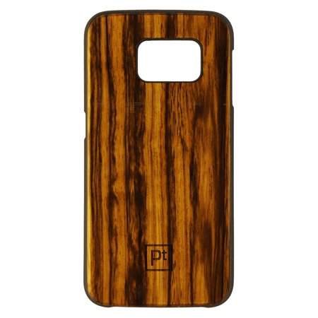 Natural Wood Series Natural - Platinum Natural Wood Series Hardshell Case for Samsung Galaxy S6 Edge - Brown