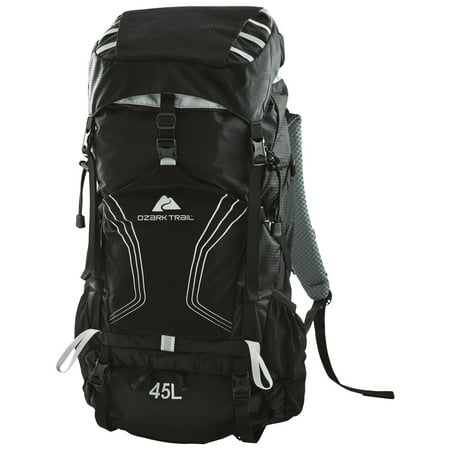 Single Pole Rolling Backpack - Ozark Trail 45L Monteplier Hydration-Compatible Ad-Pack