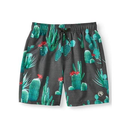 Palm Desert Swim Trunks (Big - Boys Swim Shorts