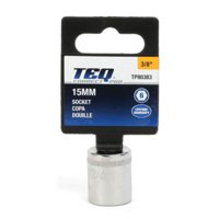 TEQ Correct Professional Socket - 3/8 Drive - 15MM, 1 each, sold by each