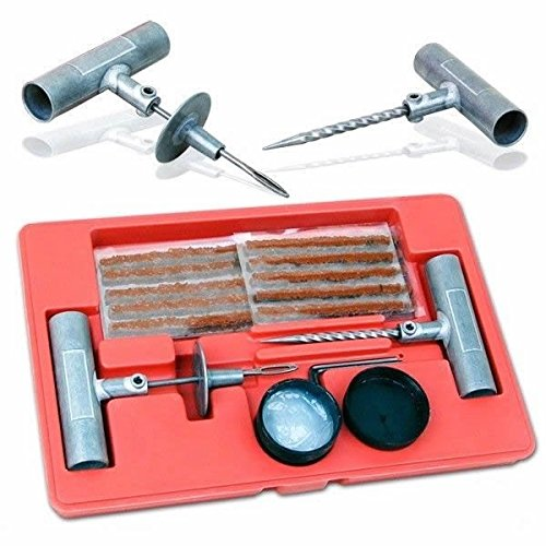 Auto Car Tubeless Tire Repair Plug Patch Tool Kit, 35pc Tire Repair Kit Specification * 1 Pc T-handle By Generic