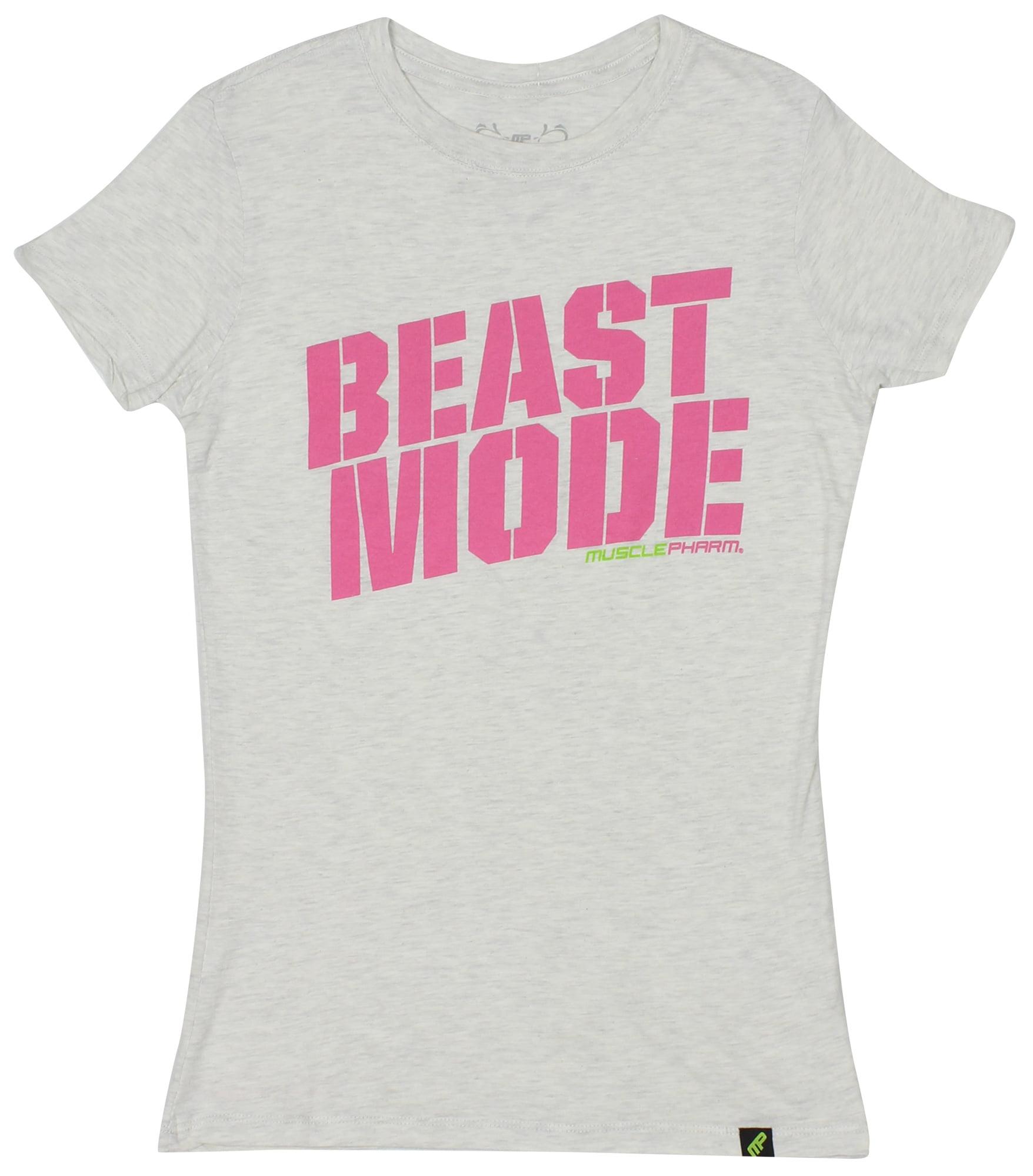 MusclePharm Womens Miss MusclePharm T-Shirt Pink