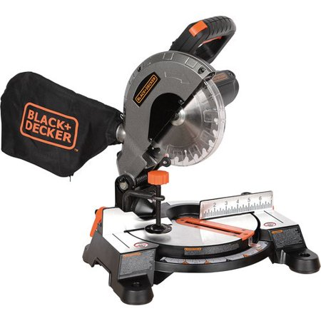 BLACK+DECKER 9 Amp 7-1/4-Inch Compound Miter Saw,