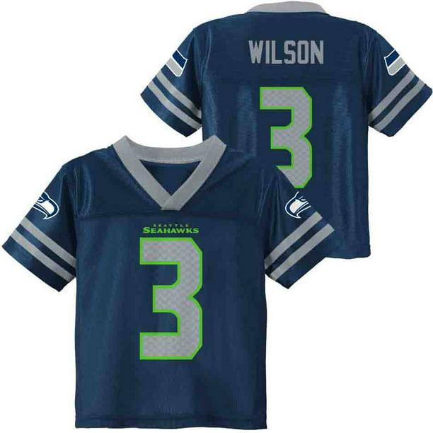 NFL Seattle Seahawks Toddler Russell Wilson Jersey