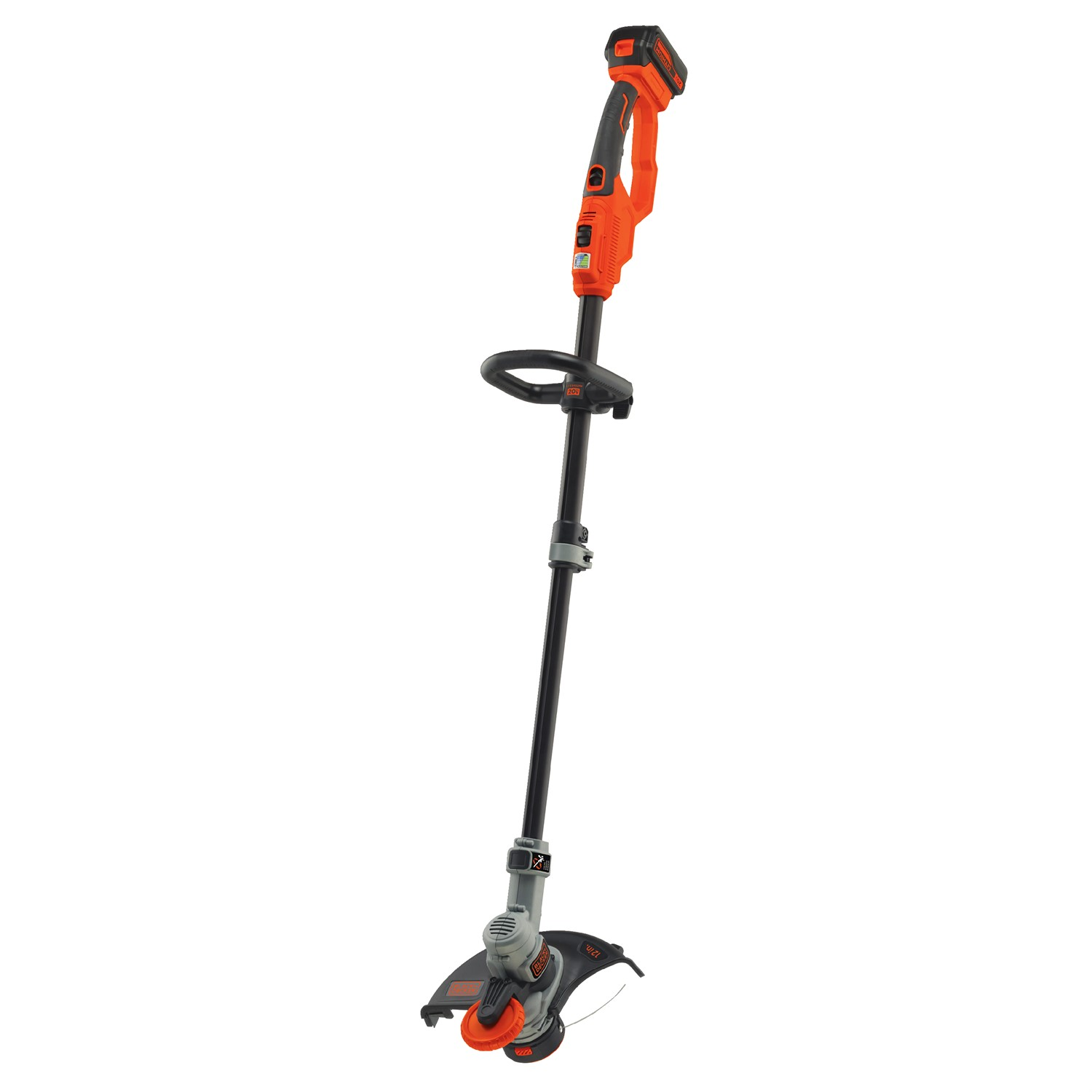 Black & Decker LST400 20V MAX* Lithium 12 in. High Performance Trimmer Edger by Stanley Black & Decker