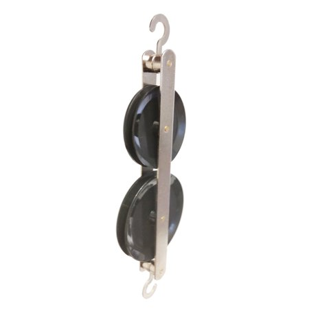 Tandem Pulley (GSC International 4-16065 Double Tandem Pulley, Black Plastic )