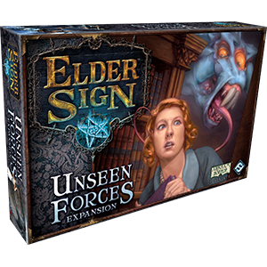 Elder Sign: Unseen Forces Strategy Board Game Expansion
