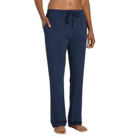 Womens Eco-PJ Bamboo Lounge Pant - Navy - Medium](48 Lounge Halloween)