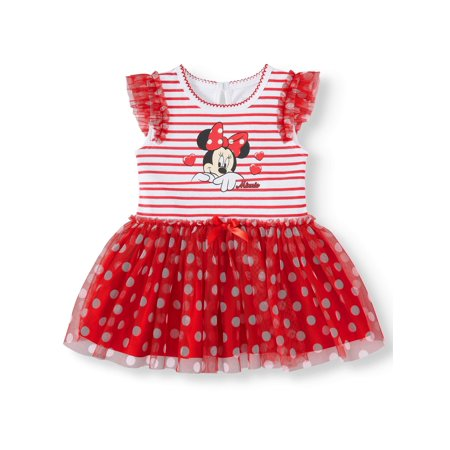 Minnie Mouse Tutu Bodysuit (Baby Girl)
