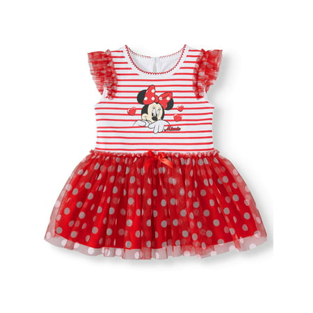 Minnie Mouse Tutu Bodysuit (Baby Girl) - Minnie Mouse First Birthday Dress