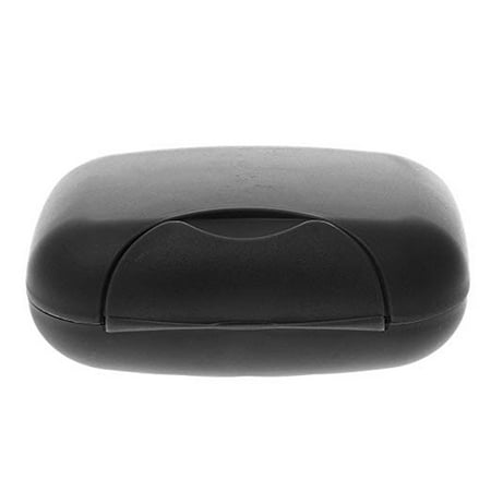 2Pcs Travel Portable Soap Case Box Holder Container Soap Dish Sealing Buckle Plastic Handmade Soap Case Bathroom Shower (Handmade Buckle)