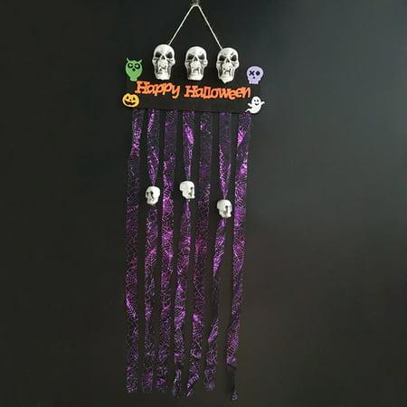 AkoaDa 2019 Halloween Graveyard Doorway Curtain Door Cover Decoration Bar Party Haunted House