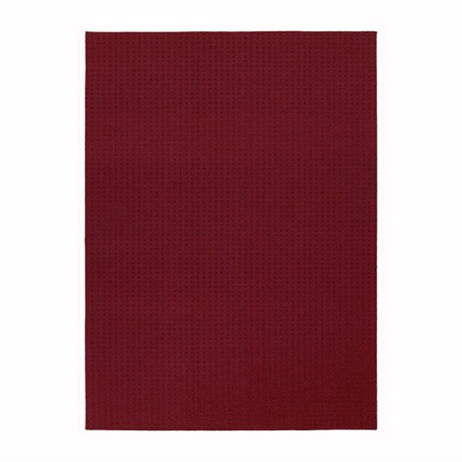 Garland Rug HS-00-RA-7696-14 Herald Square Chili Red 7 Ft.  6 inch x 9 Ft.  6 inch Area Rug