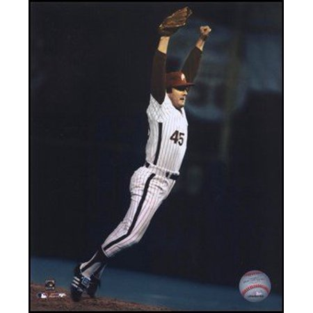 Tug McGraw - World Series last out celebration Art Poster PRINT Unknown 8x10, Exhibition Quality 8x10 Photograph By Photo File,USA