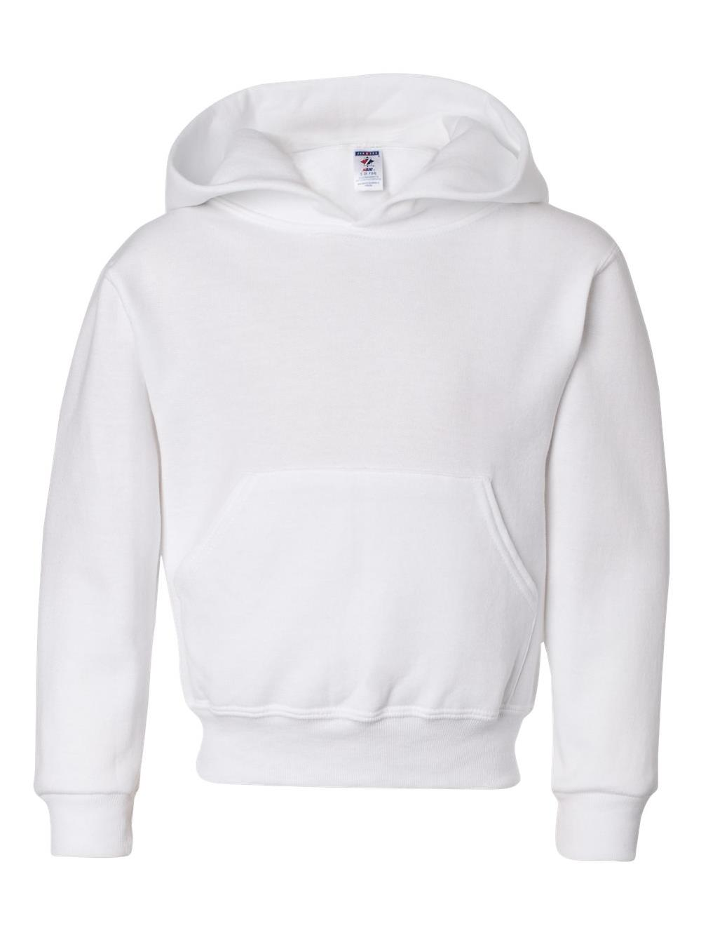 Jerzees Fleece NuBlend Youth Hooded Sweatshirt 996YR