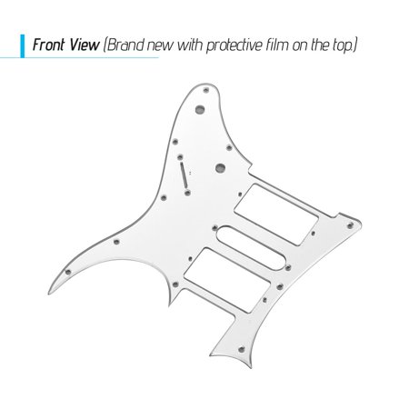 HSH Electric Guitar Pickguard PVC Pick Guard Scratch for Ibanez g250 Guitar Replacement Mirror - image 5 of 7