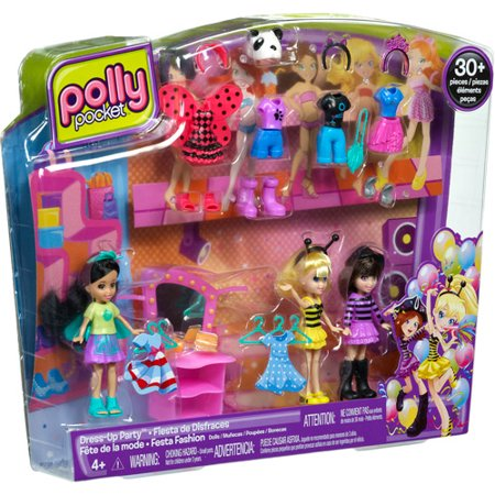 Polly Pocket Ultimate Doll Pack Costume Party