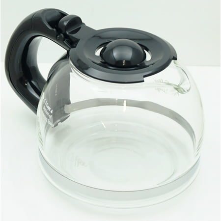 - Mr. Coffee 4 Cup Replacement Glass Carafe, Black, 191640-000-000