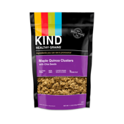 KIND, Healthy Grains, Granola Clusters, Gluten Free, Maple Quinoa with Chia Seeds, 11 oz