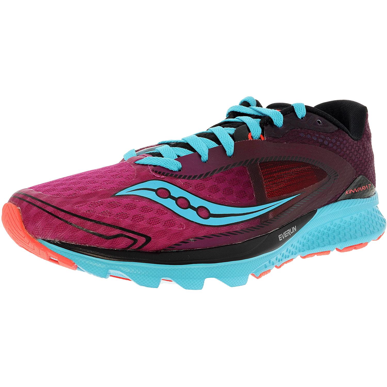 Saucony Women's Kinvara 7 BlueNavyCoral Ankle High Mesh Running Shoe 5M