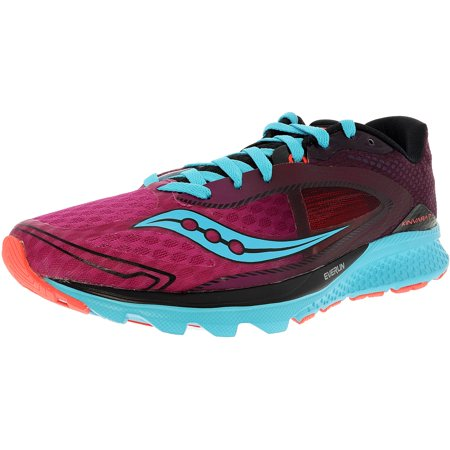 Saucony Women's Kinvara 7 PinkPurpleBlue Ankle High Mesh Running Shoe 9M