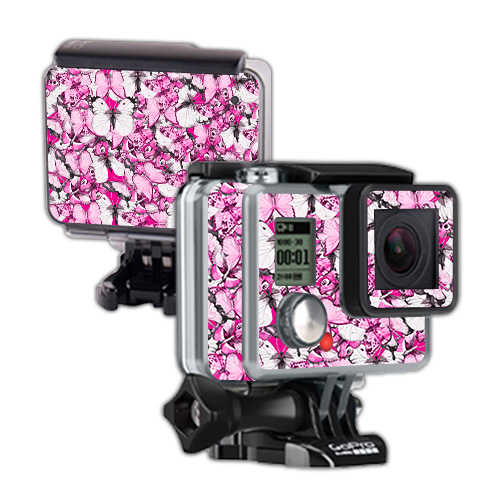 Skin For GoPro Hero – Butterflies | MightySkins Protective, Durable, and Unique Vinyl Decal wrap cover | Easy To Apply, Remove, and Change Styles | Made in the USA