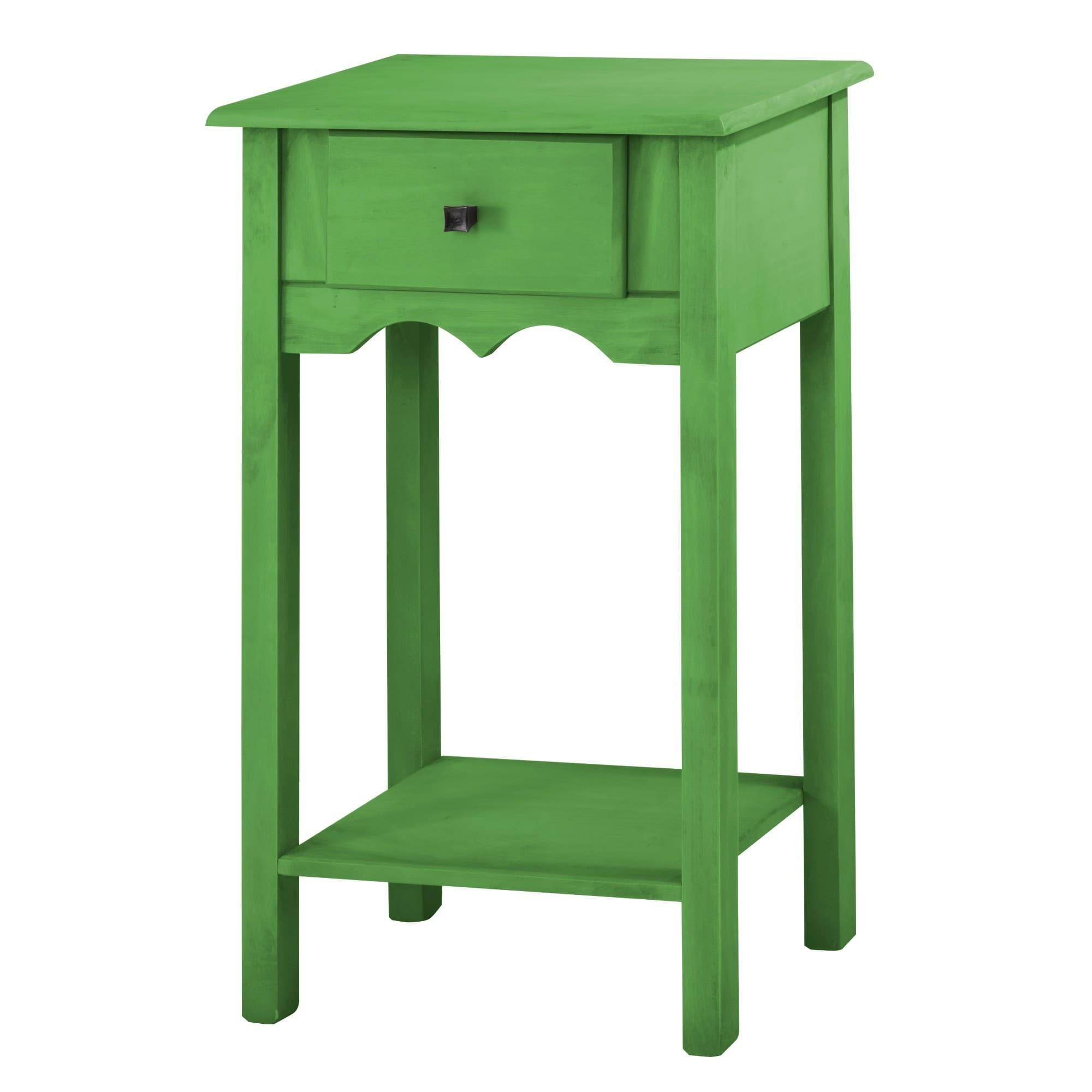 Manhattan Comfort Jay 35 Inch Tall End Table With 1 Full