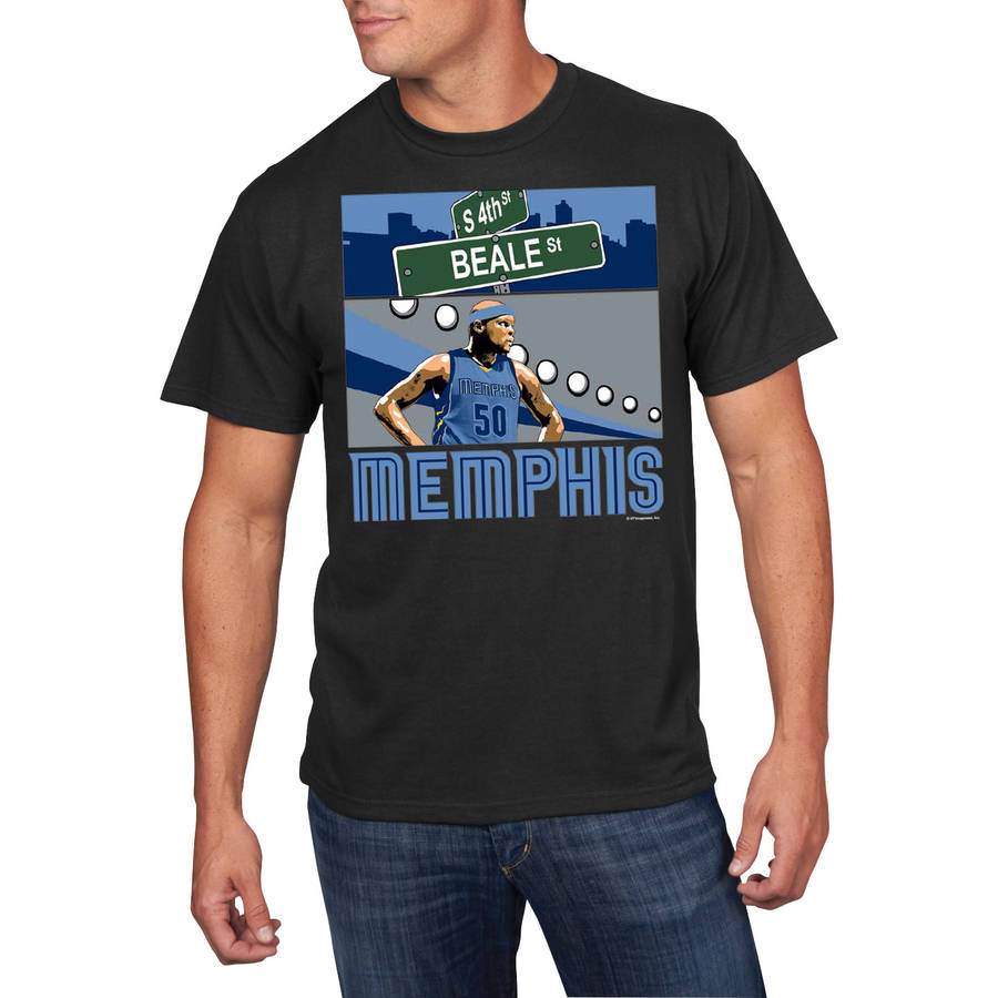 NBA Men's Memphis Grizzlies Zach Randolph Player Tee