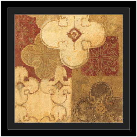 Kasbah I by Eazl Black Framed Premium Gallery Wrap