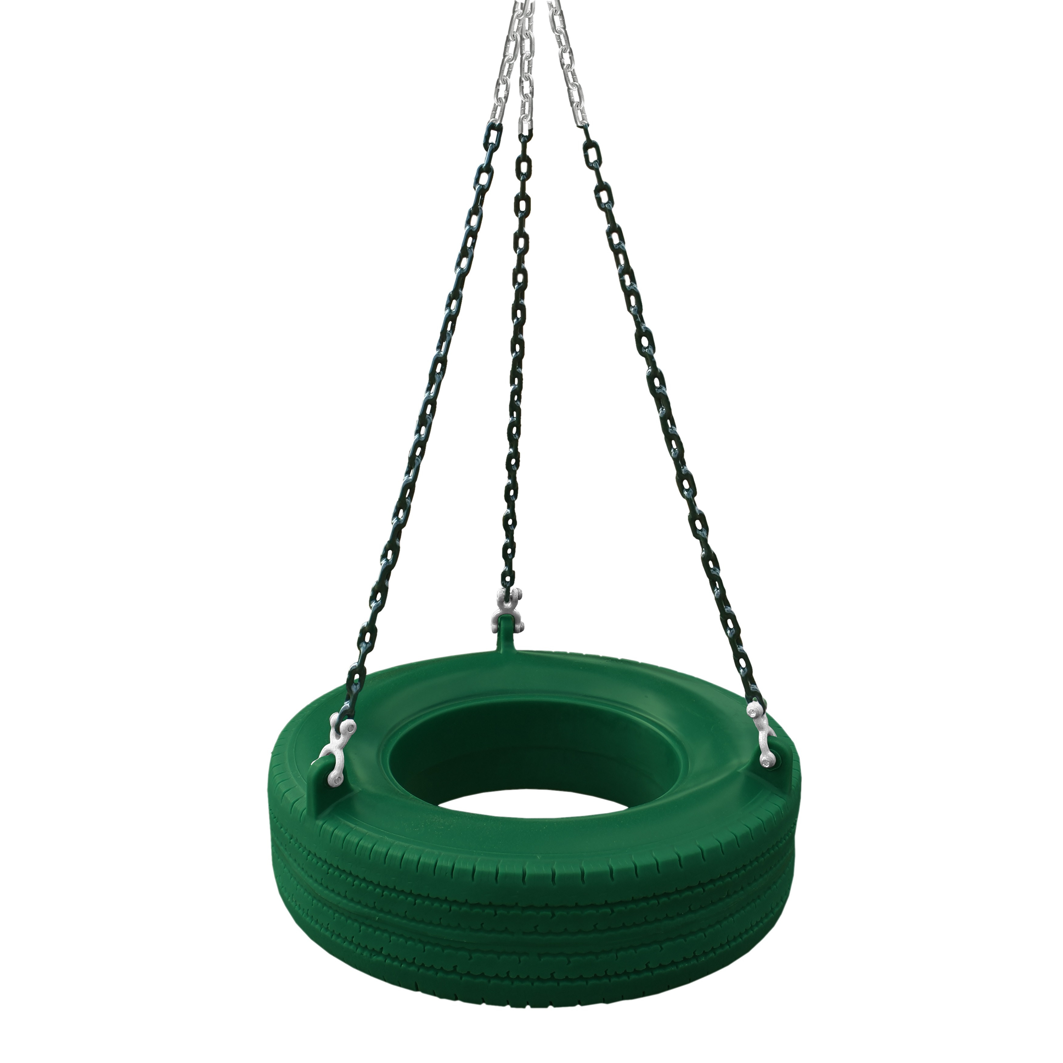 Gorilla Playsets 360 Turbo Tire Swing Green With Chains