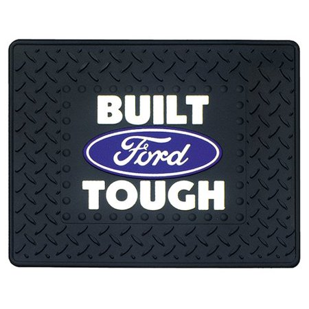 Built Ford Tough with Ford Oval Utility Mat- 14