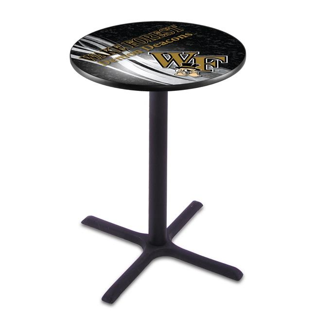 Holland Bar Stool L211B3628WakeFr-D2 36 in. Wake Forest Demon Deacons Pub Table with 28 in. Top - image 1 de 1