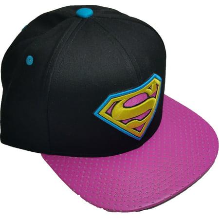 Superman Flat Visor Baseball Cap