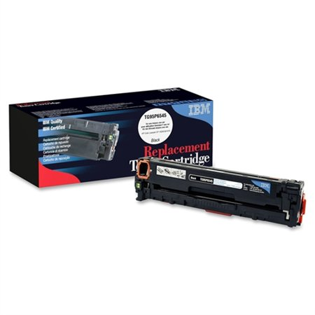 Ibm Black Toner Cartridge For Hp Cm1415fnw Cp1525w Color Laserjet Pro Printers Tg95p6545