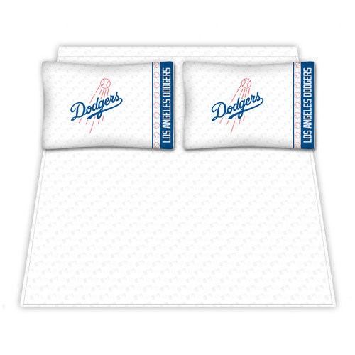 Sports Coverage Inc. Los Angeles Dodgers Micro Fiber Sheet Set