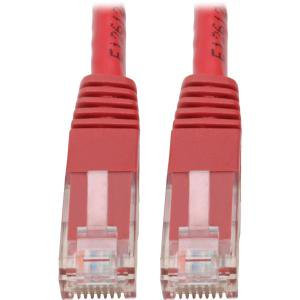 - Tripp Lite Premium N200-015-RD 15ft Cat6 RJ-45 Patch Network Cable - Red