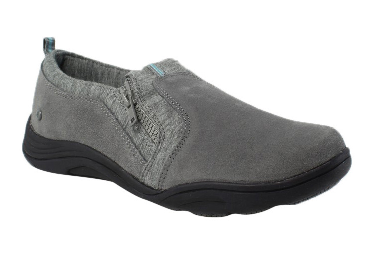 Grasshoppers Womens EH57545 Gray Oxfords Flats Size 5.5 New by Grasshoppers