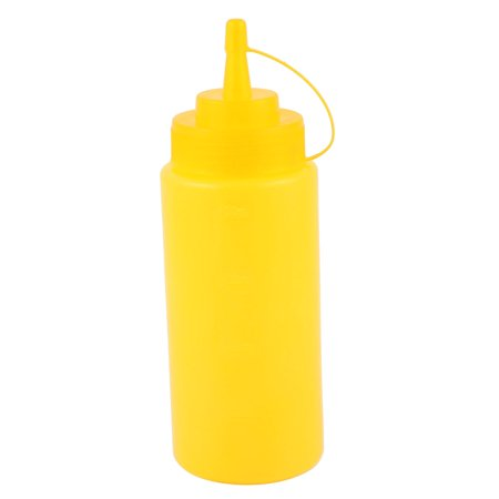 400ml 16oz Kitchen Food Squeeze Bottles Condiment Ketchup Mustard Oil