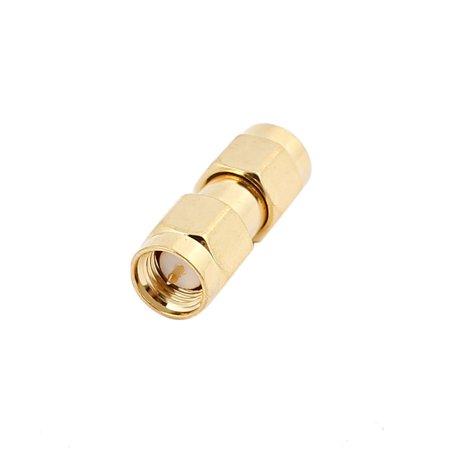connecteur Adaptateur 21.5mm x 9mm SMA Femelle à male Cable Coaxial Jack Couple - image 2 de 2