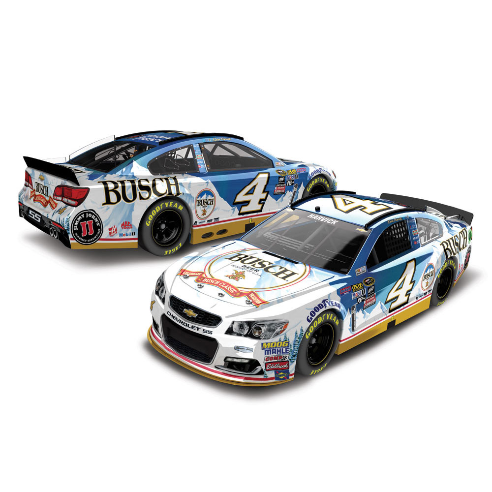 Kevin Harvick Action Racing 2016 #4 Busch 1:24 Nascar Sprint Cup Series Flashcoat Color... by Lionel LLC