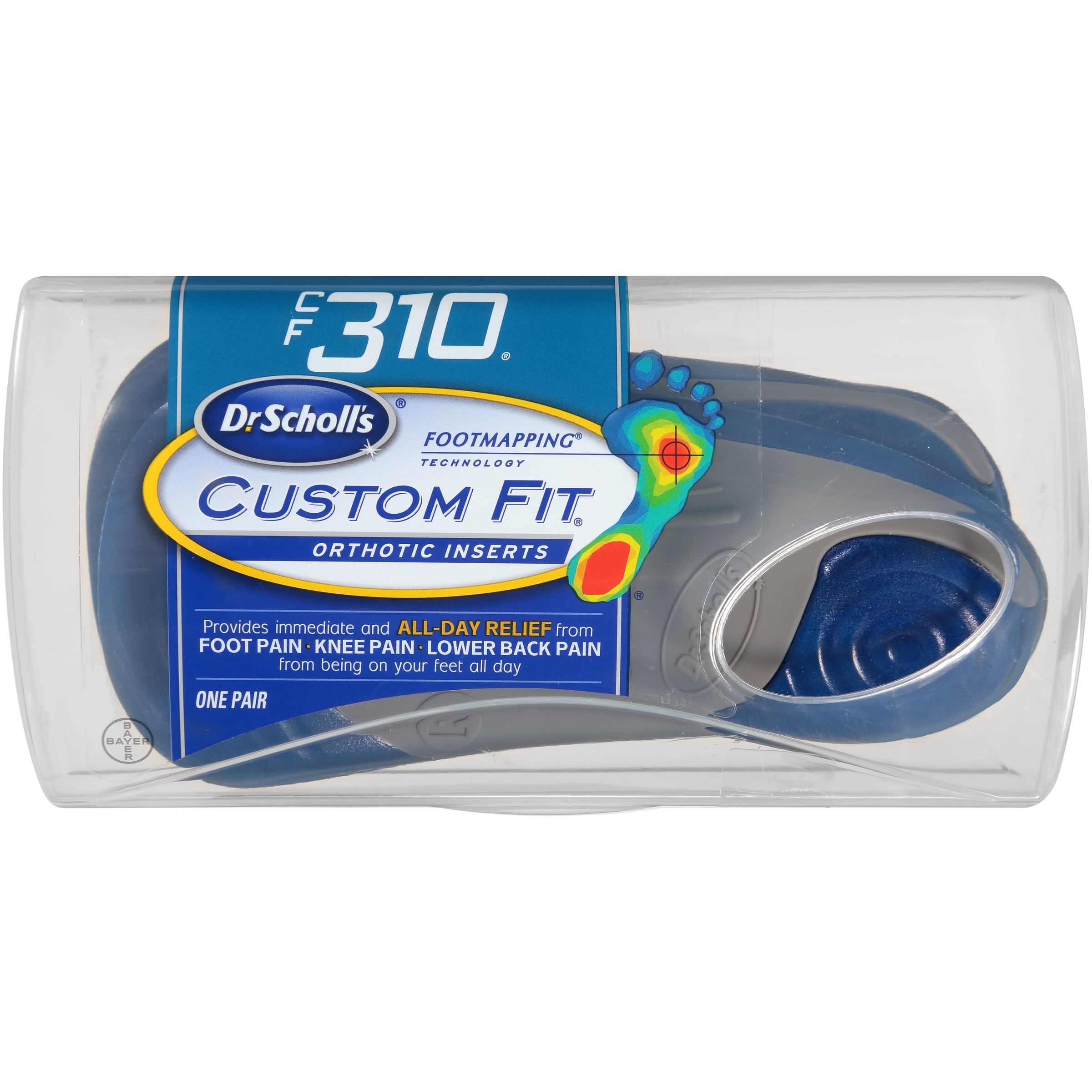 Dr. Scholl's® Custom Fit® Orthotics CF340, 1 Pair