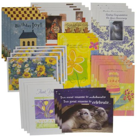 32 Count Variety Pack For Every Occasion Greeting Cards With