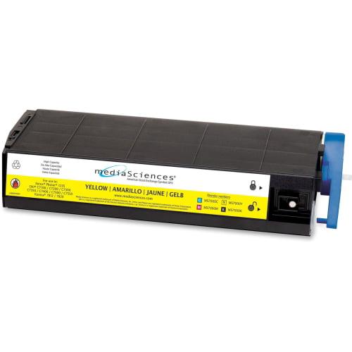MS7000Y Compatible 41963001 (Type C4) High-Yield Toner, Yellow MDAMS7000Y