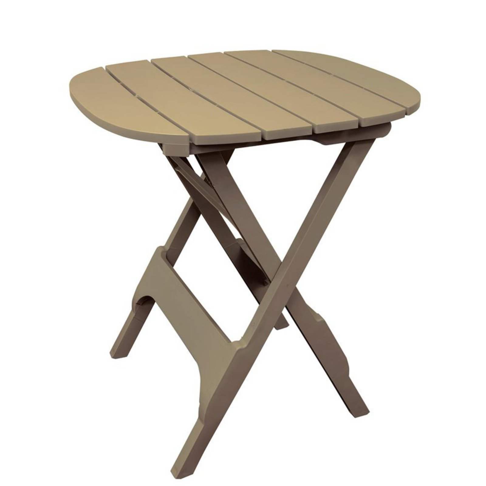 Adams Manufacturing Quik-Fold 34 in. Patio Bistro Table