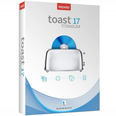 Roxio Toast v.17.0 Titanium - Box Pack - 1 User - CD/DVD Burning - (User Pack Mac)