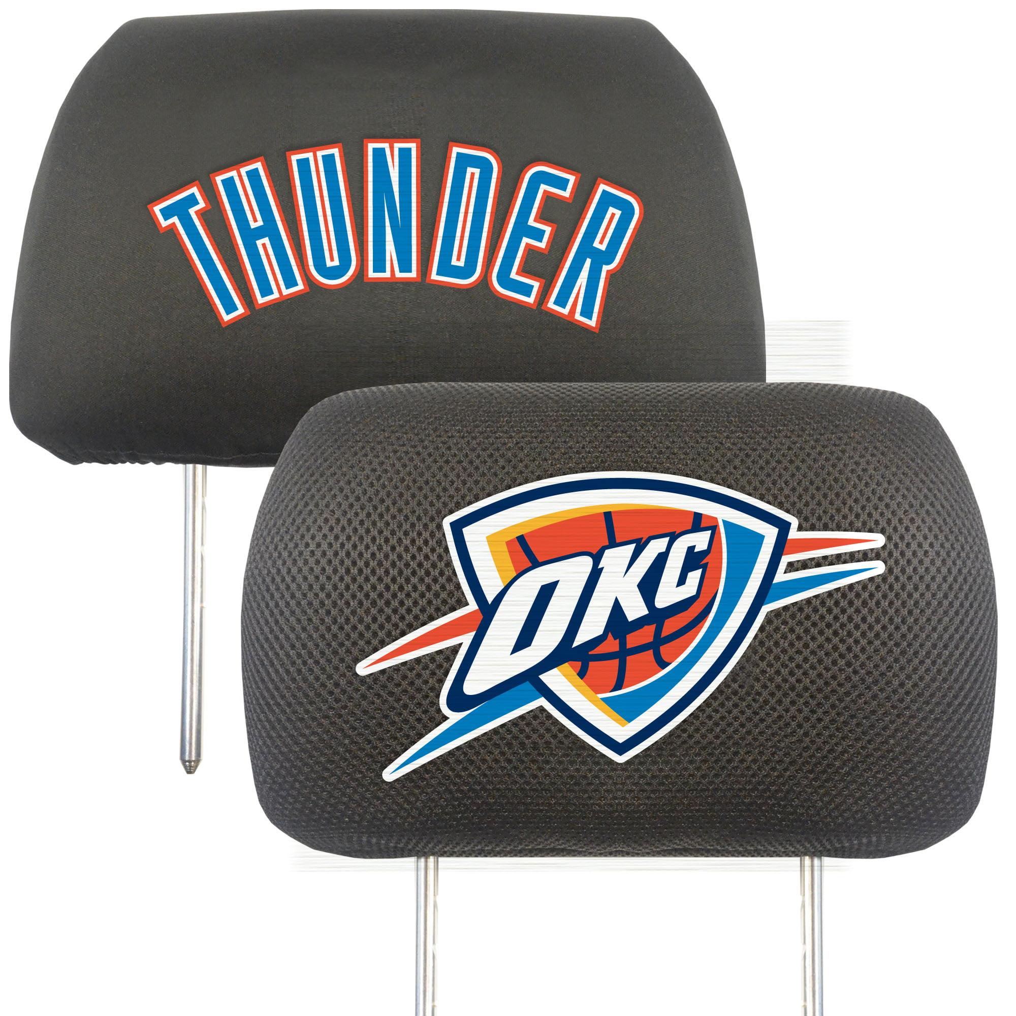 NBA Oklahoma City Thunder Head Rest Cover Automotive Accessory